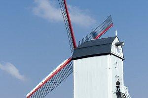 Windmill in Brugges, Belgium