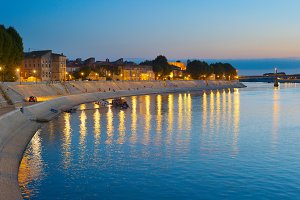 embankment of Arles, France