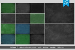 Blank Chalkboard Texture IV.
