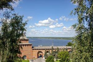View of the Volga