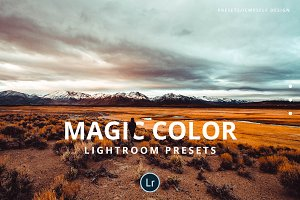 Magic color Lightroom presets