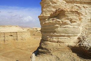 Desert near to the Dead Sea