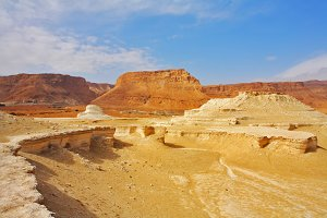 Stone desert of the Dead Sea