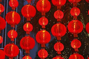 lamps in the Chinese style