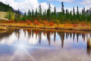 Brilliant small lake