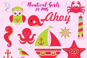 Nautical Clipart for Girls