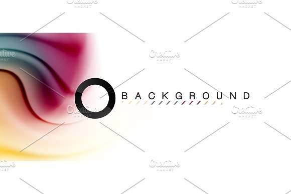 Swirl fluid flowing colors motion effect, holographic abstract background in Illustrations
