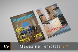 Furniture Magazine Template