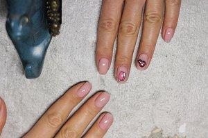 Ice & hot manicure