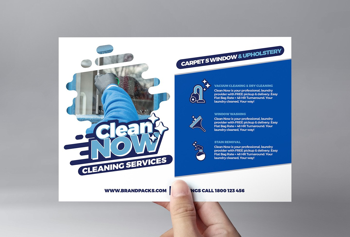 Cleaning Service Flyer Template ~ Flyer Templates ~ Creative Market