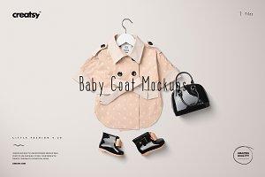Baby Coat Mockup Set