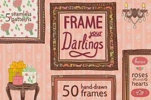 Frame Your Darlings: Frames+Patterns