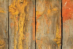 wooden texture painted with yellow paint board
