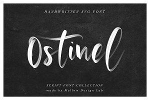Ostinel SVG Font