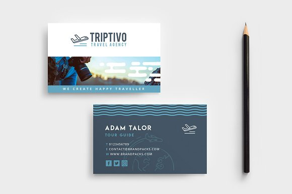 Travel company business card design business card templates travel company business card design business cards cheaphphosting Images