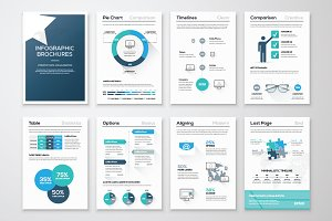 Infographic Brochure Elements 10