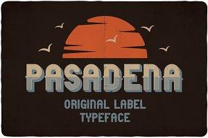 Pasadena typeface
