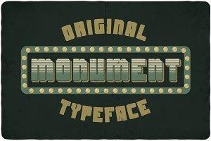 Monument typeface