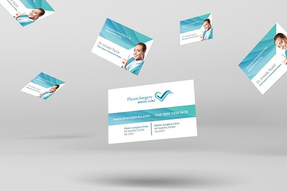 Plastic surgery business card business card templates creative plastic surgery business card business card templates creative market colourmoves
