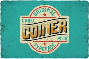 Coiner typeface