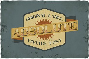 Absolute typeface
