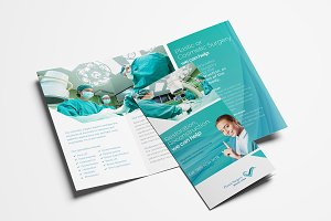 Plastic Surgery Trifold Brochure