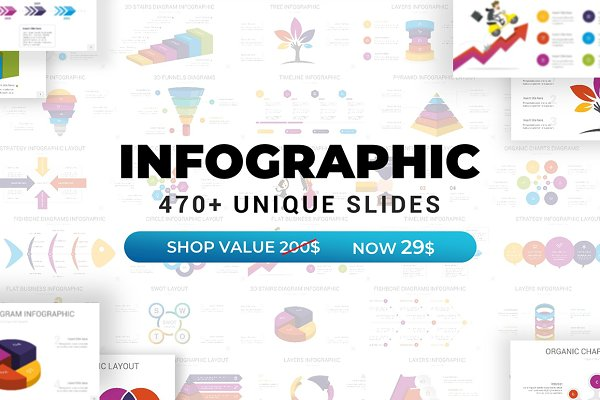 Infographics Pack | FREE Updates
