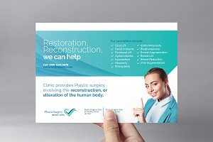 Plastic Surgery Flyer Template