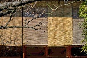 Bamboo shutters