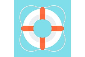lifebuoy color icon