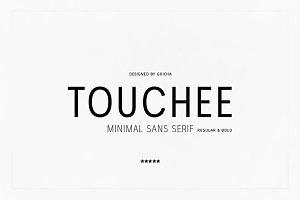 Touchee - Minimal Sans Serif