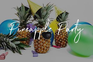 Pineapple Party Bundle of Photos