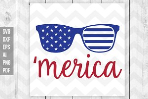 America SVG/DXF/Vector
