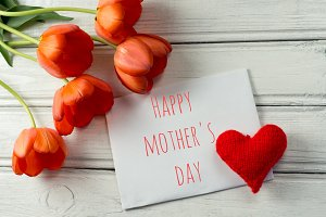 Congratulations happy mother's day.