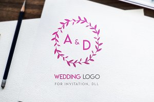 Logo name for wedding