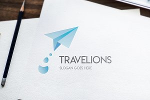 Travel / Fly / Adventure - Logo