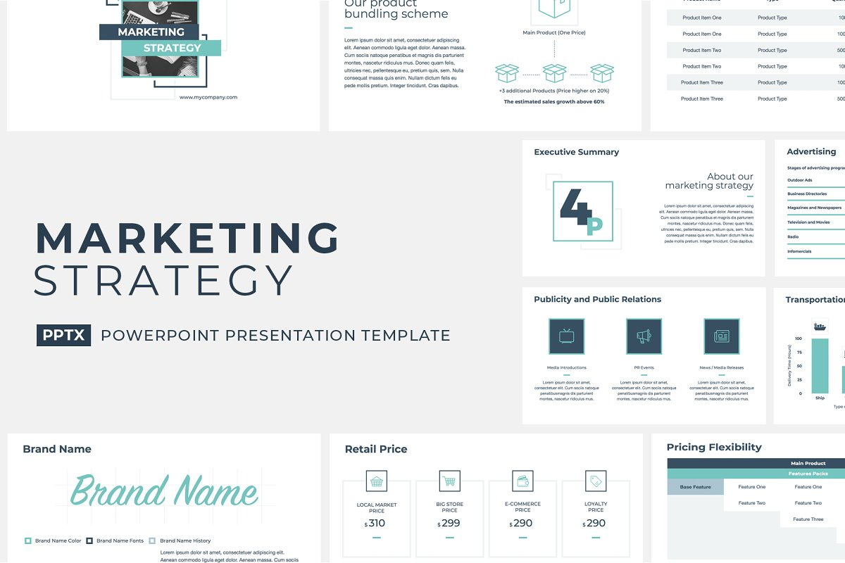 Marketing Strategy Powerpoint Powerpoint Templates