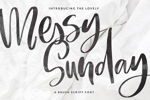 Messy Sunday Script font