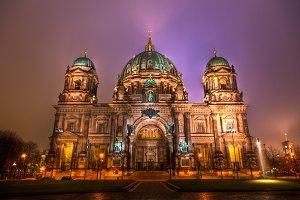 Berlin Dom at Night