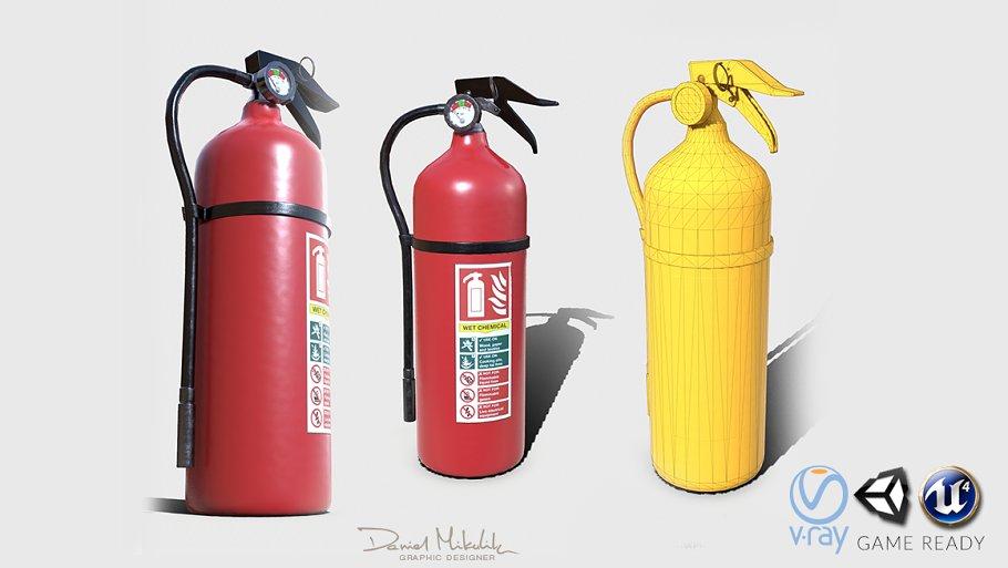 Fire extinguisher PBR