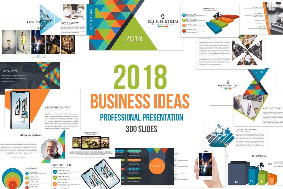 2018 Business Ideas Powerpoint ~ PowerPoint Templates