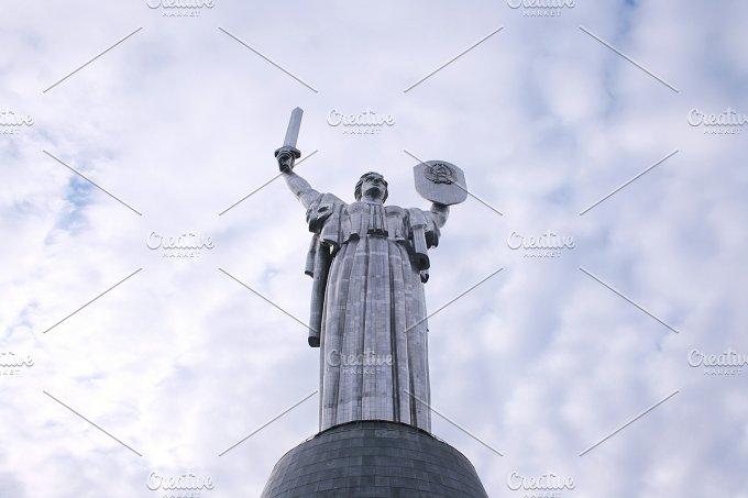 Motherland monument. Kiev, Ukraine - Architecture