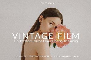 Vintage Film Tones Pack LR/PS