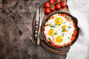 Tasty and Healthy Shakshuka
