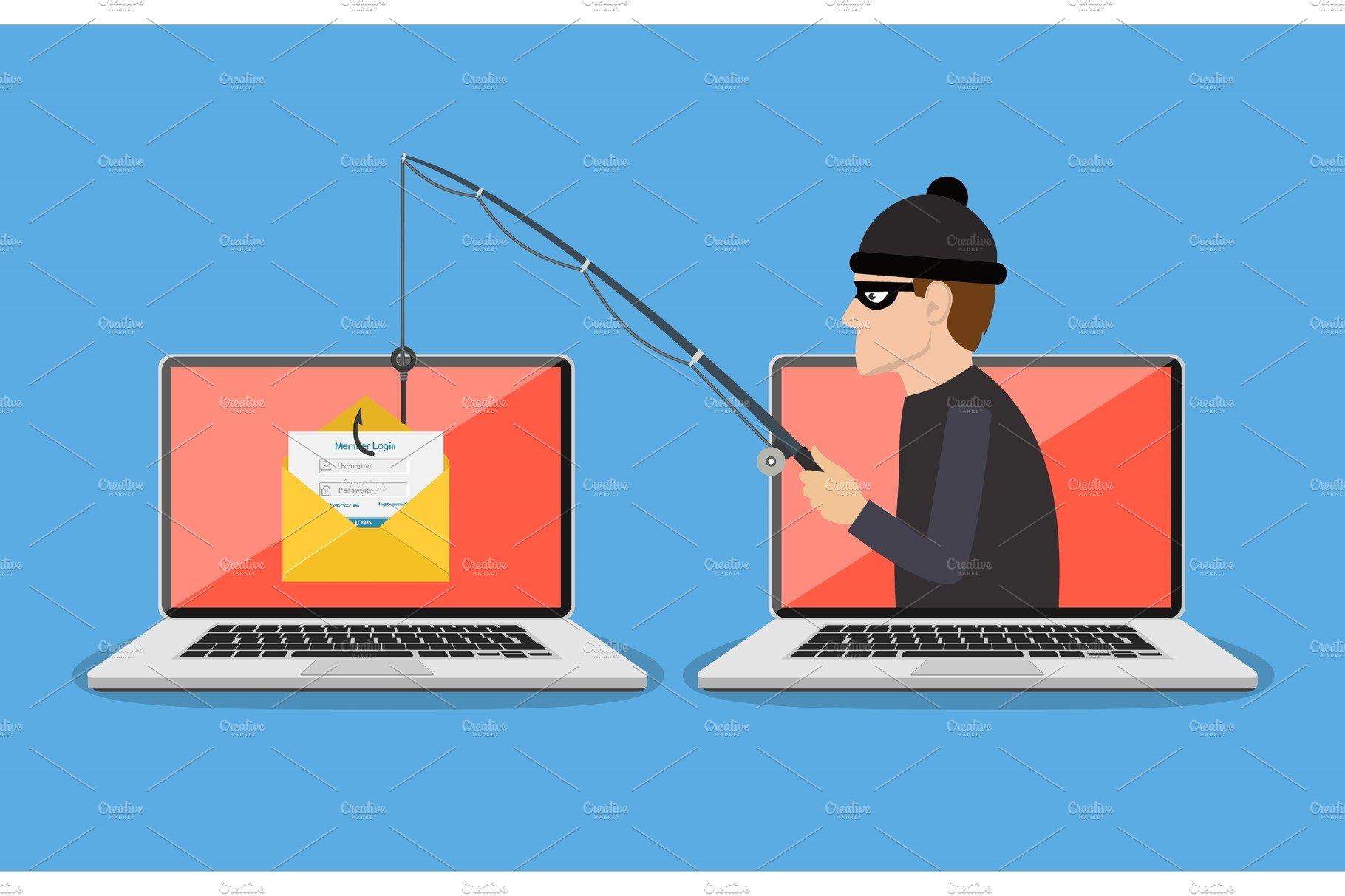 phishing scam hacker attack custom designed. Black Bedroom Furniture Sets. Home Design Ideas