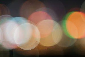 Bokeh and defocus of lighting