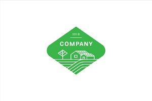 Agro food company logo.
