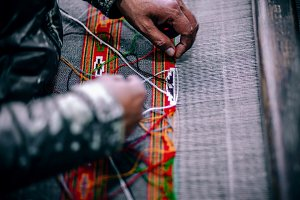 Thread Worker Weaving