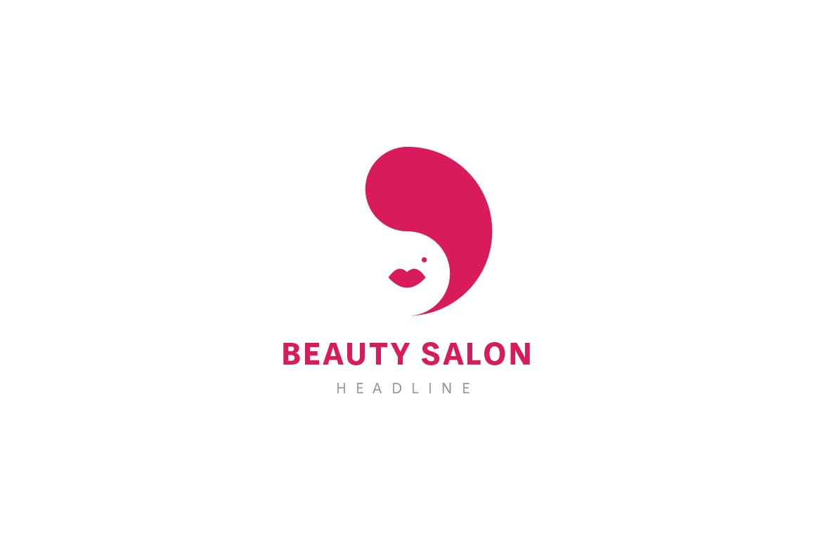 Beauty Salon Logo Creative Illustrator Templates Creative Market