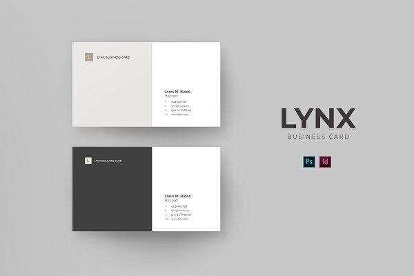 Lynx Business Card